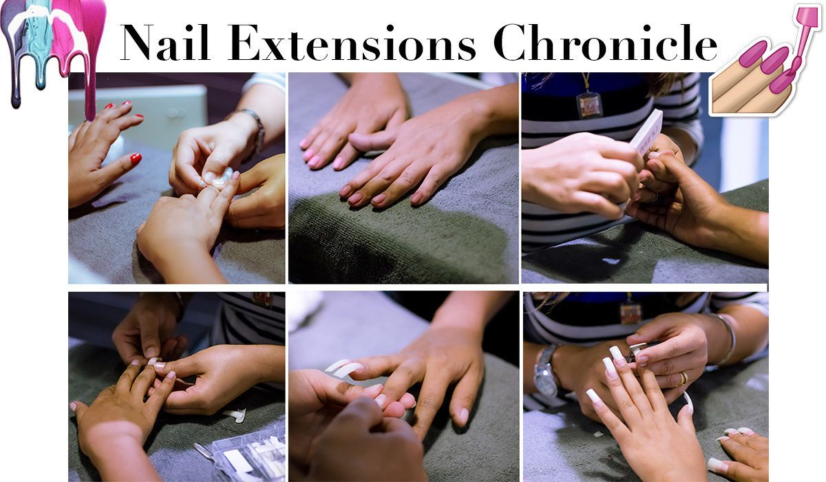 Nail Extensions at Bounce Style Lounge
