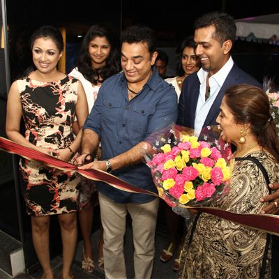 Kamalhaasan and Gautham launch Bounce ECR Chennai